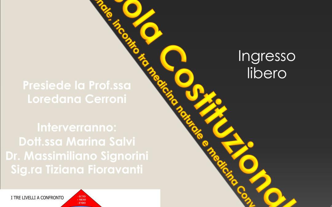 Domenico Claps presenta La bussola costituzionale